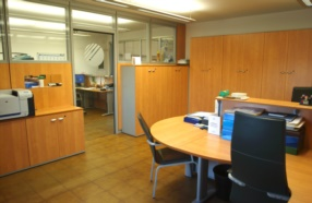 Internal view of the offices